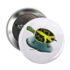 Peace Turtle Button (10 pack)