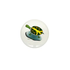 Peace Turtle Mini Buttons (100 pack)