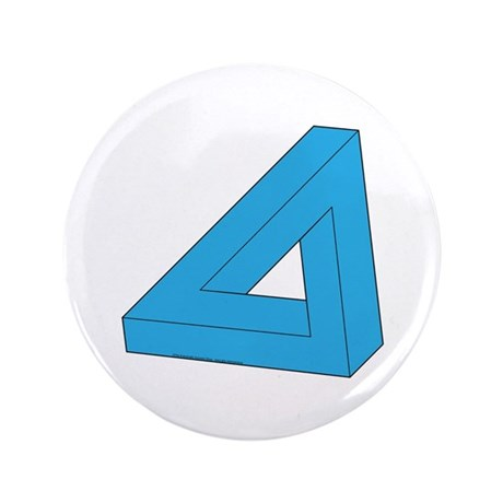 "Optical Delusion 3.5"" Button (100 pack)"