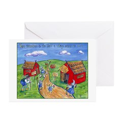 Village Idiot Greeting Cards (Pk of 10)