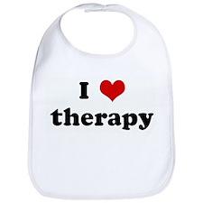 I Love therapy Bib