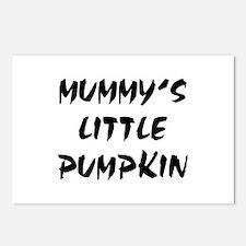 MUMMY'S LITTLE PUMPKIN! Postcards (Package of 8)
