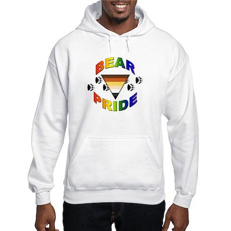Bear Pride <BR>Hooded Sweatshirt