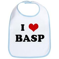 I Love BASP Bib