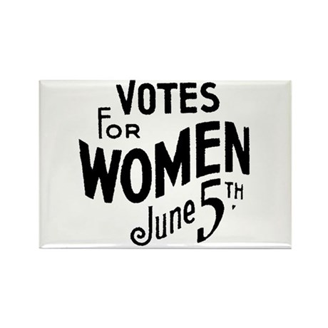 10x10votes for women Magnets