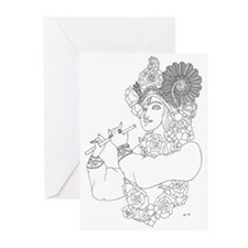 Krishna: Color Your Own Greeting Cards (Package of