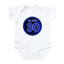 Dad's 30th Birthday Infant Bodysuit