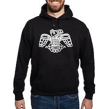 Haida Eagle BW Hoodie