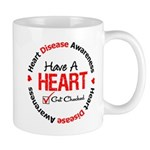 Heart Disease Get Checked Mug