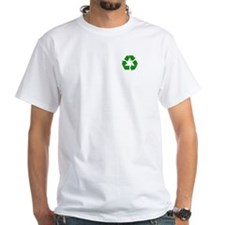 White Go Green T-Shirt