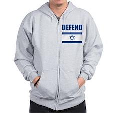 Defend Israel Zip Hoody
