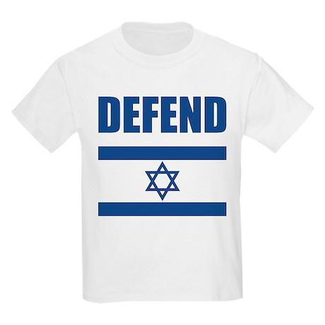 Defend Israel Kids Light T-Shirt