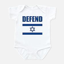 Defend Israel Infant Bodysuit
