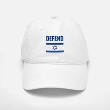 Defend Israel Baseball Baseball Cap