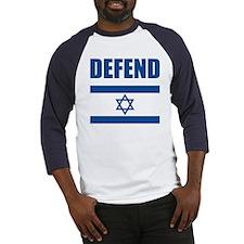 Defend Israel Baseball Jersey