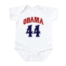 Obama 44 rwb Infant Bodysuit