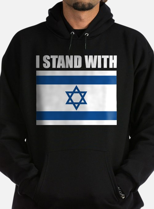I Stand With Israel Hoodie (dark)