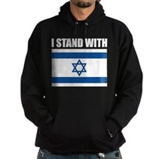 I Stand With Israel Hoody