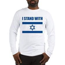 I Stand With Israel Long Sleeve T-Shirt