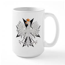Polish Eagle Black Cross Mug