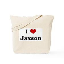 I Love Jaxson Tote Bag