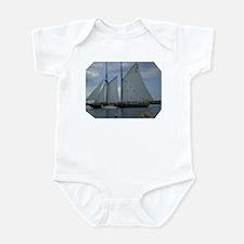 Bluenose Schooner Infant Bodysuit