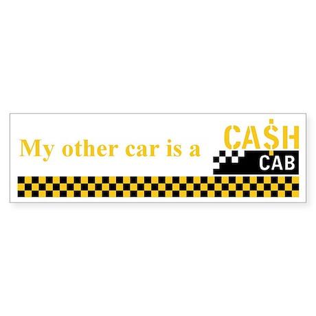 Cash Cab Bumper Sticker