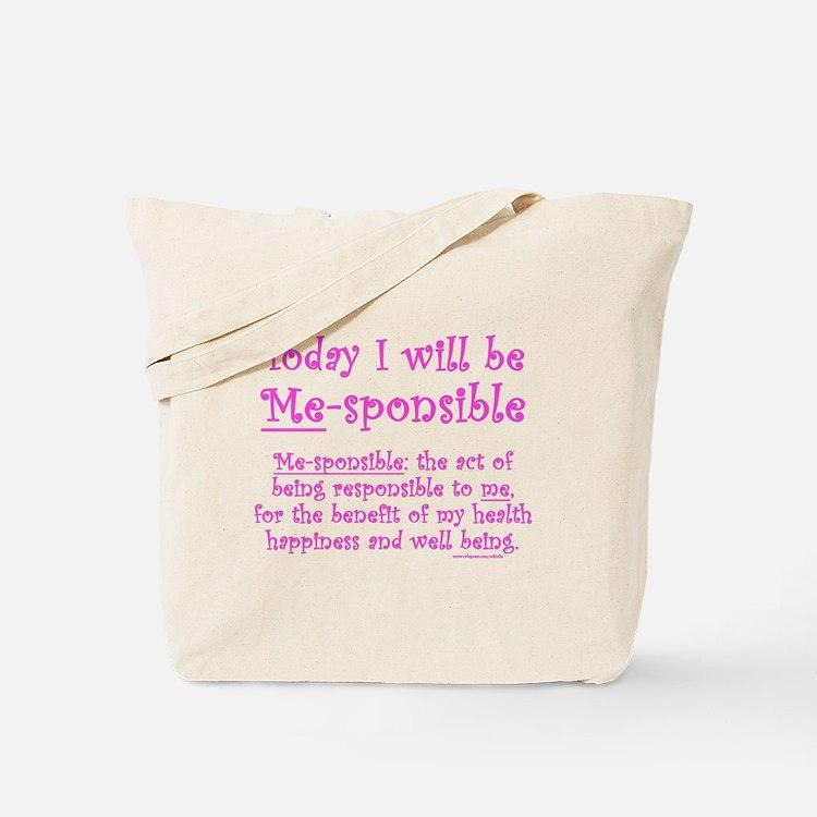 Me-sponsible Tote Bag