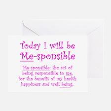 Me-sponsible Greeting Card