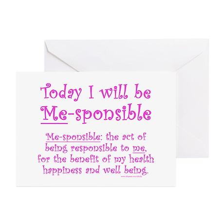 Me-sponsible Greeting Cards (Pk of 20)