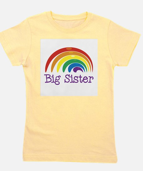 Big Sister Rainbow T-Shirt