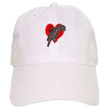 african gray love Baseball Cap
