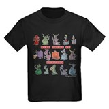 Dragons Kids T-shirts (Dark)