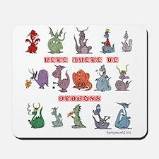Dragons Mousepad
