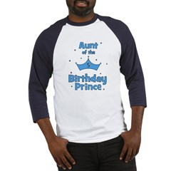 Aunt of the 5th Birthday Prin Baseball Jersey