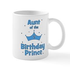 Aunt of the 5th Birthday Prin Mug