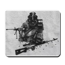 Armed to the Teeth Mousepad