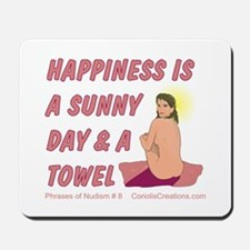 Sun & Towel - Mousepad