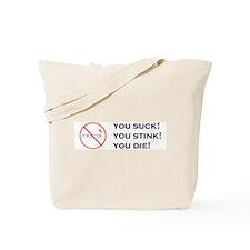 Unique Anti smoking Tote Bag