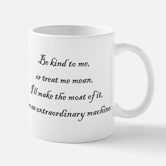 Extraordinary Machine Mug