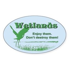 Wetland Oval Decal