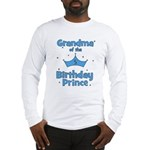 Grandma of the 5th Birthday P Long Sleeve T-Shirt