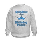 Grandma of the 5th Birthday P Kids Sweatshirt