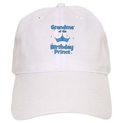 Grandma of the 5th Birthday P Baseball Cap