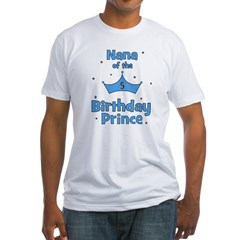 Nana of the 5th Birthday Prin Shirt