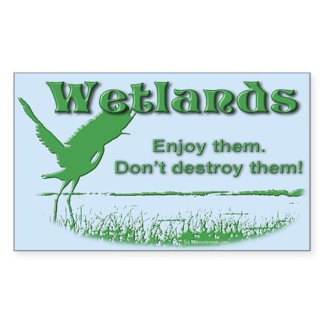 Wetland Rectangle Sticker 50 pk)