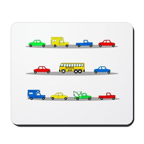 Cars! Cars! Cars! Mousepad