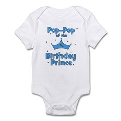 Pop-pop of the 5th Birthday P Infant Bodysuit