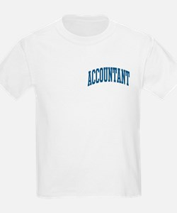 Accountant Occupation Collegiate Style T-Shirt