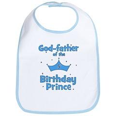 Godfather of the 5th Birthday Bib